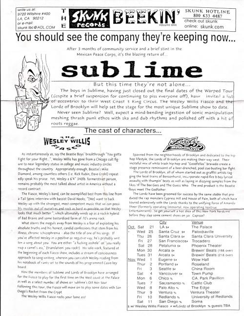 The Beekin Sublime Wiki